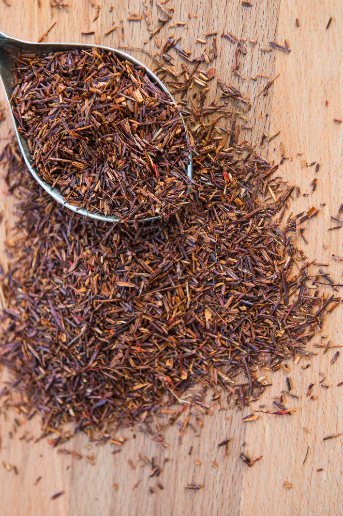 treating irritation with rooibos tea